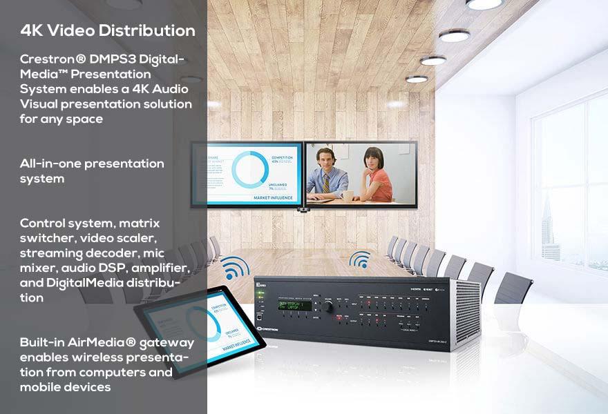 4K Audio Visual presentation solution